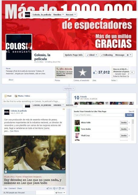 Campaña Colosio, el asesinato en Facebook